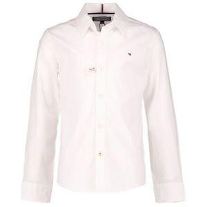 Tommy Hilfiger Jungen Oberhemden in der Farbe Weiß - Größe 176