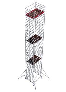 KRAUSE STABILO Fahr-Gerüst Serie 50 (2,0x1,5m) Arbeitshöhe 14,40 m