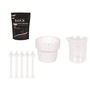 Nasenhaar Wachs Haarentfernung Set Hair Removal Nose Wax Nasenwachs Set für Männer und Frauen