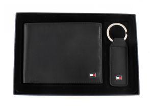 TOMMY HILFIGER Eton CC and Coin Pocket Gift Box Black