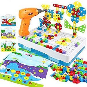 Spielzeug Elektrische Simulation Werkzeug Montiert Spiel DIY Modell Kit Educational Building Spielzeug Sets Schrauben