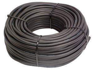 as - Schwabe 10042 Schwere Gummischlauchleitung 50m, schwarz, 50m H07RN-F 5G6