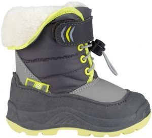 Winter-grip Kinder Schneestiefel Jr Hoppin´ Bieber Anthrazit/Grau/Hellgrün Winter-Schuhe, Größe:34