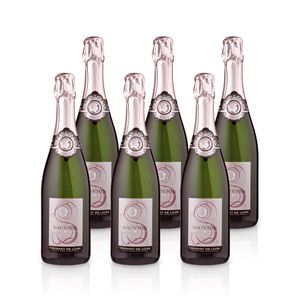 Crémant de Loire Blanc Brut – Sauvion -  Méthode Traditionelle, Paket mit:6 Flaschen