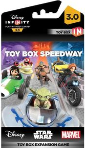 BANDAI NAMCO Entertainment Disney Infinity 3.0 - Toy Box Speedway Expansion, Video game downloadable content (DLC), Englisch, 28/08/2015, Avalanche Software, Disney Interactive Studios