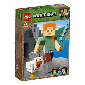 LEGO® Minecraft™ Minecraft™-BigFig Alex mit Huhn, 21149