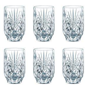 Nachtmann 0092954-0 Palais Saftbecher 265 ml, Kristallglas (6 Stück)