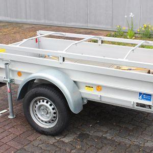 3x Alu-Bügel für Anhänger Flach-Planen verstellbar 1000 - 1450mm Planenstütze