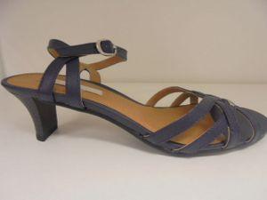 Esprit Damen Sandalen in Blau, Größe 42