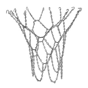 12 Loop Basketballnetz Innenrand Außenschlaufe Aus Verzinktem Stahl - Golden Farbe Golden