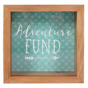 Boho Bandit Spardosen-Rahmen Adventure Fund SD922 (Einheitsgröße) (Braun/Grün)