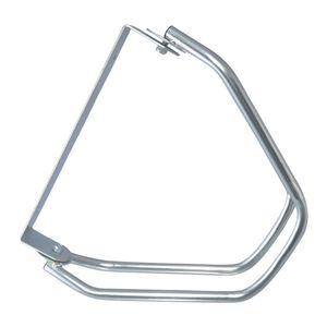 Fahrradständer zur Wandmontage Verstellwinkel: 0–180°, Wandhalterung für 1 Fahrrad, galvanisiert