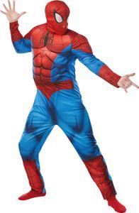 Rubie's spider-Man Deluxe Herrenkostüm Polyester blau/rot