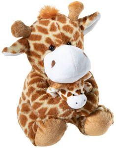Heunec Plüschtier Giraffe mit Baby