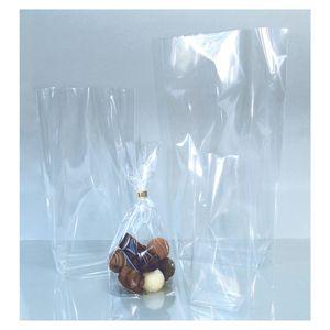 folia 483 Bodenbeutel unbedruckt, 180x300mm, 10 Beutel, transparent (10 Beutel)