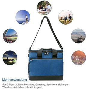 Campingküche kühlkorb ,kühltasche Thermotasche Picknicktasche für Camping Strand Reisen