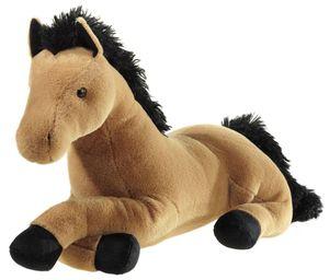 Plüschtier Pferd, liegend, 38 cm