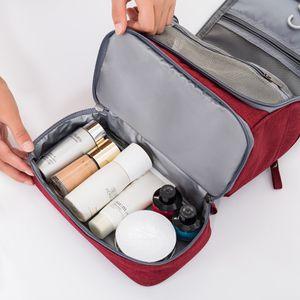 Kulturbeutel Waschtasche Kosmetiktasche zum Aufhängen für Damen & Herren Neu
