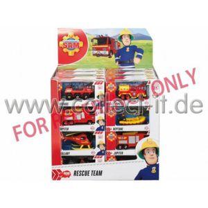 Dickie Toys 203093000 Feuerwehrmann Sam Cashier Fahrzeuge, sortiert