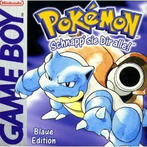 Pokemon - Blaue Edition