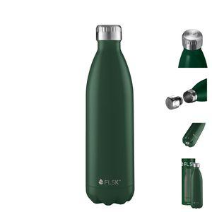 FLSK Trinkflasche - Isolierflasche 1000ml Forest