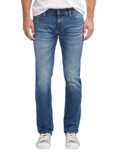 Mustang - Slim Fit - Herren 5-Pocket Jeans, Low rise, Oregon Tapered (3116-5111), Größe:W32/L36, Farbe:Dark scratches used (583)