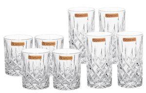 "Nachtmann Whisky- & Longdrinkgläser ""Noblesse"", 8er Set je 4 Stück"