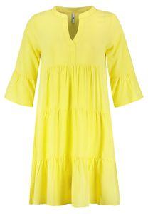 Kleid mit Volants, Größe:XL, Farbe:10200|LIGHT CITRUS YELLOW