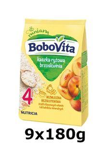 GroßhandelPL Reis Bobovita Pfirsichbrei nach 4 Monaten 9x180g