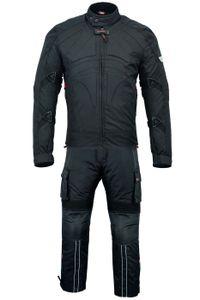 BULLDT 2-teiler Motorradkombi Cordura Textilien Motorradjacke + Motorradhose, Größe:52/L