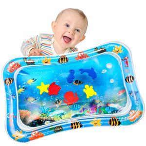 Baby Aufblasbare  Wassermatte für Kinder Kleinkinder Aufblasbare Wasser-Spielmatte Kleinkinder Spielmatte Frühe Entwicklung Perfektes Sensorisches Spielzeug