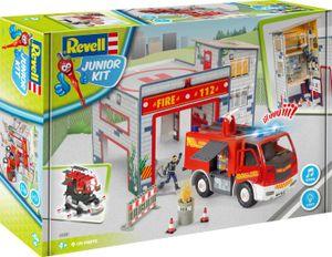 Revell Junior Kit Playset Feuerwache + Truck
