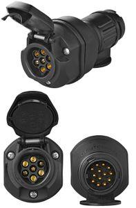 LED Adapter CAN BUS 13 auf 7 polig Anhänger 12V Widerstand Beleuchtungsadapter