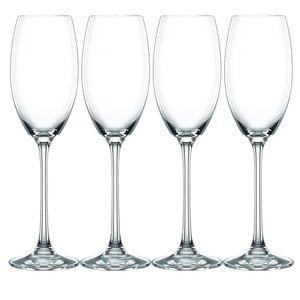 Nachtmann 0085695-0 Champagner Vivendi, 272 ml, klar (4er Pack)