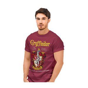 Harry Potter - Gryffindor T-Shirt für Herren PG673 (XL) (Burgunder)