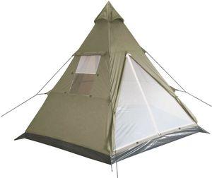 MFH Indianer Zelt Tipi oliv Campingzelt Zelt Moskitonetz 3 Personen Camping NEU