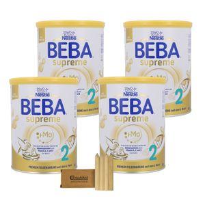Nestlé BEBA SUPREME 2 - 4x800g mit Stifte-Minibox