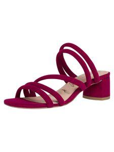 Tamaris Damen Pantolette rot 1-1-27237-24 schmal Größe: 41 EU
