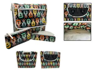 BASIL Kinder Fahrrad Tasche wasserdicht Schultasche Fahrrad Doppel Gepäckträger Umhängetasche Bunt