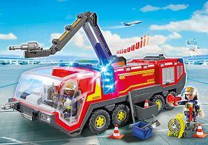 PLAYMOBIL 5337 City Action Flughafenlöschfahrzeug mit Licht und Sound