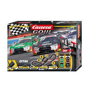 Carrera GO! Rennbahn-Set DTM-Sieger 620 cm schwarz