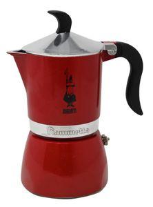 Bialetti Fiammetta, Kaffeemaschine 1 Tasse, Chily Pepper Espressokocher