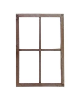 Deko Fensterrahmen, Holzfenster, Sprossenfenster, Landhaus Shabby Fenster