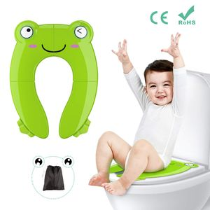 Kinder Toilettensitz, Faltbarer Toilettentrainer für Unterwegs