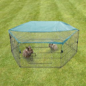 Freilaufgehege für Kleintiere