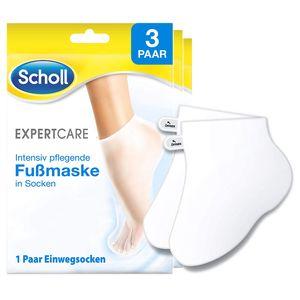 Scholl Intensiv pflegende Fußmaske in Socken Multipack Fußcreme Fußpflege 3 Paar