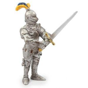 Schleich 70001 - Ritter mit großem Schwert in Rüstung und Helm Mittelalter