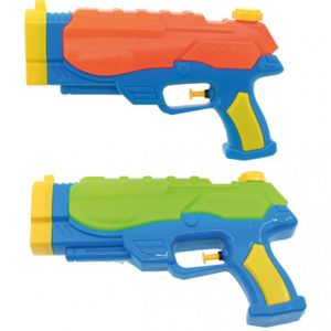 2er Set Wasserpistole mit 250 ml Wasser Tank Spritzpistole Wassergewehr 24cm Spielzeug Wasserspritzpistole 0,25l Fassungsvermögen