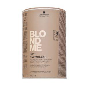 Schwarzkopf Professional BlondMe Bond Enforcing Premium Lightener 9+ Puder zur Haaraufhellung 450 g