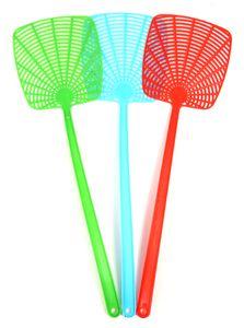 Fliegen-Klatsche Insekten-Vernichter Fliegen-Fänger Fliegen-Klatschen Tennis-Schläger 3 Stück